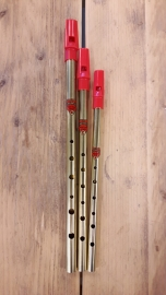 Generation Brass Tin Whistle (D / C / Bb)