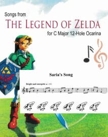 Songs from the Legend of Zelda sheet music