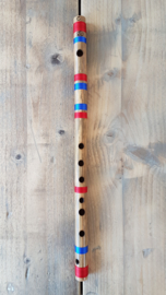 Indiase Bansuri Fluit (Medium C) - Bamboe - Professionele Kwaliteit - Anand Dhotre