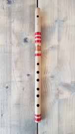 Indian Bansuri Flute with Fipple Mouthpiece (Medium C) - Bamboo - Student Quality - Prince Flutes