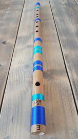 Indiase Bansuri Fluit (Bass E) - Bamboe - Professionele Kwaliteit - Anand Dhotre