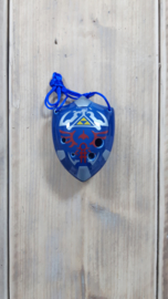 STL Zelda Shield Ocarina - Tenor C - 6 holes - Ceramic