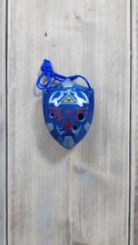 STL Zelda Schild Ocarina - C - 6 gaten - Keramiek