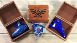Zelda treasure chest for STL ocarinas