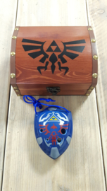 Zelda treasure chest for STL ocarinas