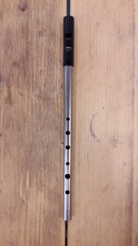Tony Dixon Trad Nickel  stembare Tin Whistle (D)