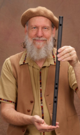 Erik the Flutemaker Egyptian Flute in Carbon Fiber (D)