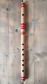 Indiase Bansuri Fluit (Medium C) - Bamboe - Prince Flutes -  Studenten Model van Hoge Kwaliteit