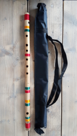 Indiase Bansuri Fluit (Bass G) - Bamboe - Professionele Kwaliteit - Anand Dhotre