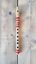 Indian Bansuri Flute with Fipple Mouthpiece (High G) - Bamboo - Student Quality - Prince Flutes
