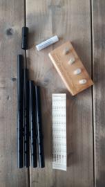 Susato Oriole stembare Tin Whistle Set (D + C+ Eb + Bb)