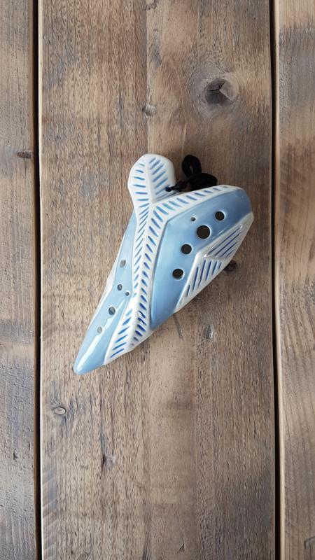 STL Element Ice Ocarina - Tenor G - 12 holes - Ceramic