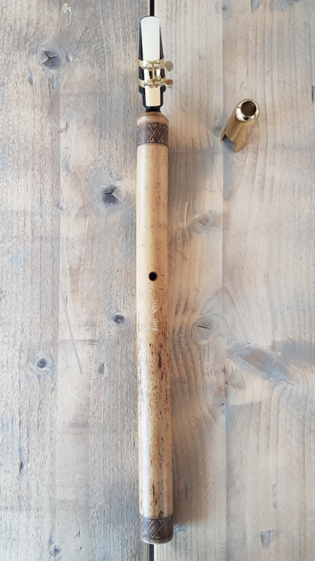 Erik the Flutemaker Alto Bamboo Saxophone