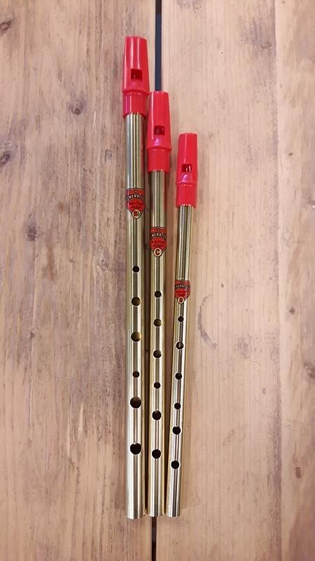 Generation Brass Tin Whistle (D / C / Bb)