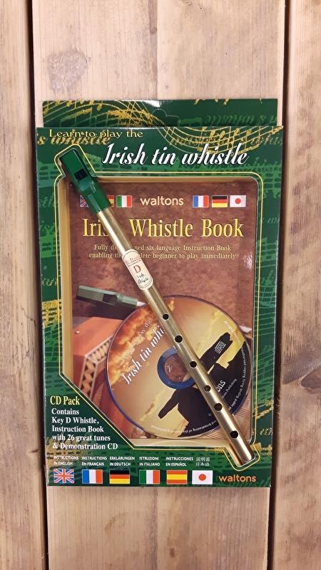 Waltons Irish Set (Whistle + Book + CD)