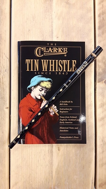 Clarke Tin Whistle Triple-pack (Whistle + Boek + CD)