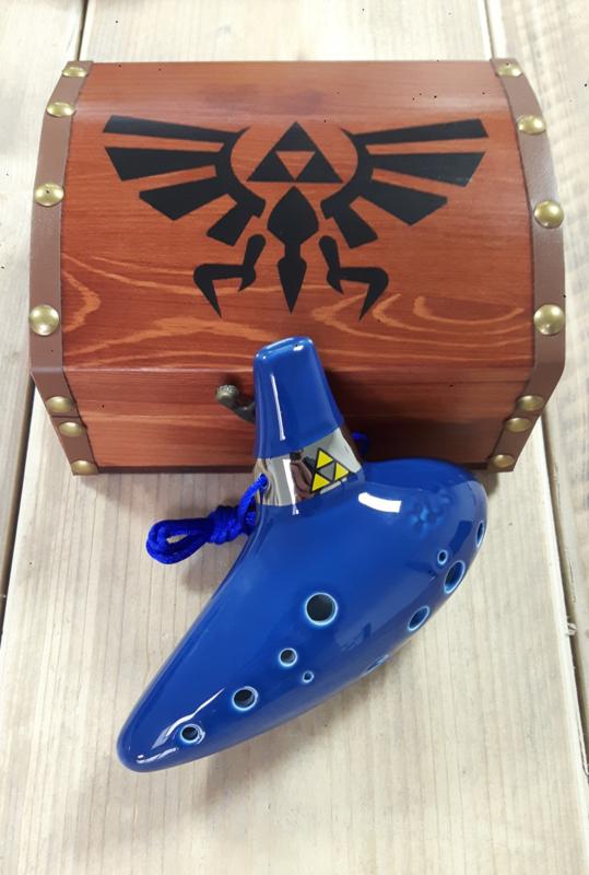 STL Zelda Ocarina - Tenor C - 12 gaten - Keramiek