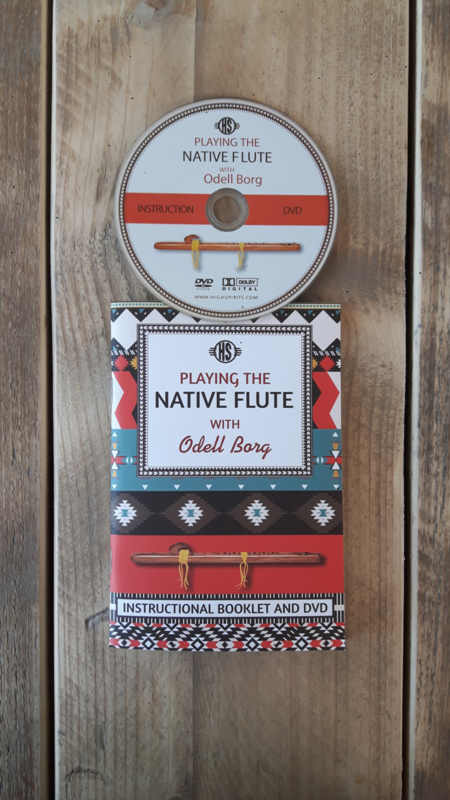 Playing the Native Flute - Study book + DVD for beginners