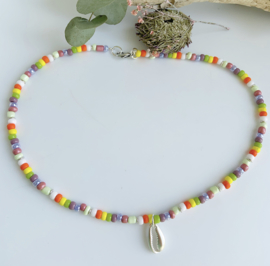 Nell zilver ketting