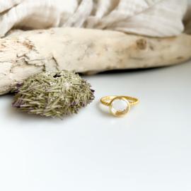 Ring: Alice transparante quartz