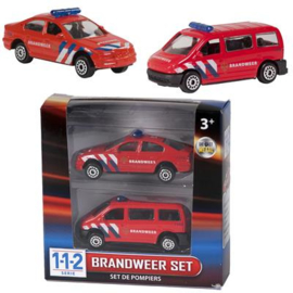 112 brandweer set 2 delig