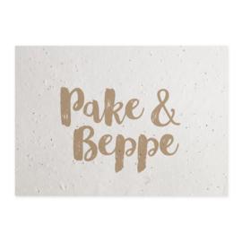 Groeikaart Pake & Beppe