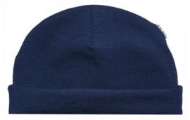 Prematuur mutsje marineblauw