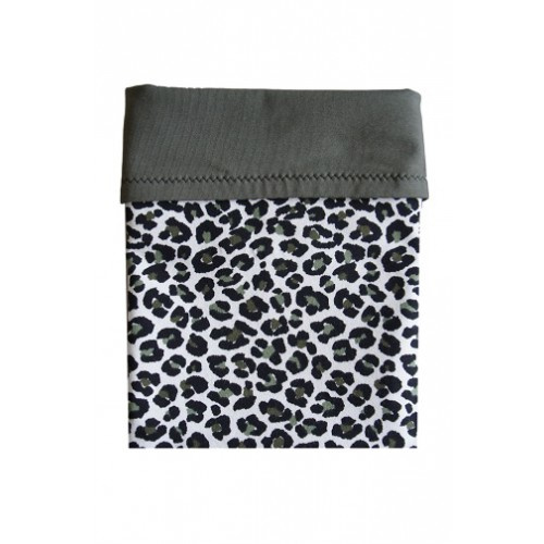 Couveusedoek leopard groen maxi