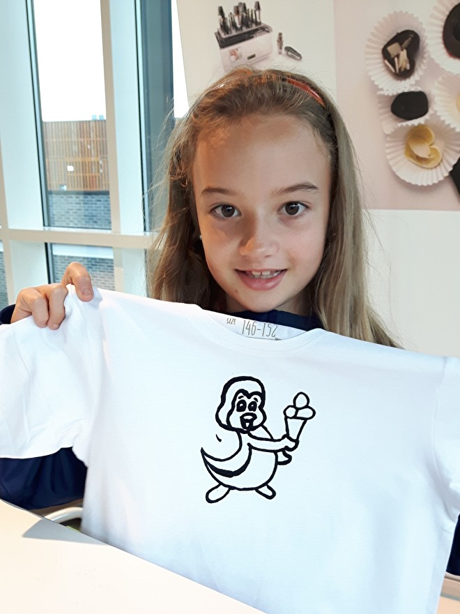 2D Tekenen - T-shirt ontwerpen