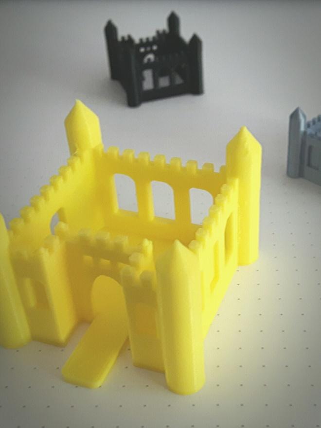 3D Droomkasteel