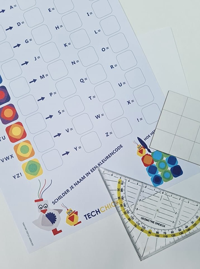 Kleurcodering werkblad 1