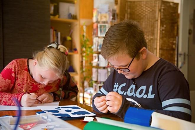 Stickerontwerp methode Matisse