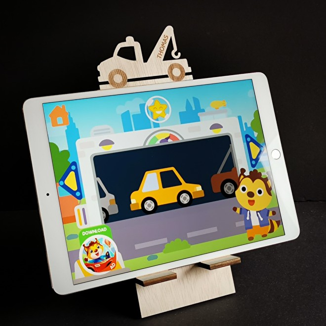 Standaard Tablet Takelwagen met Ipad