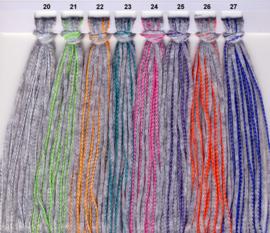 Adriafil - Scout - kleur 025 GRIJS PAARS