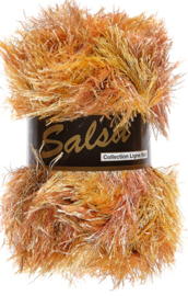 Lammy Yarns - Salsa 621 - Bruin gemeleerd
