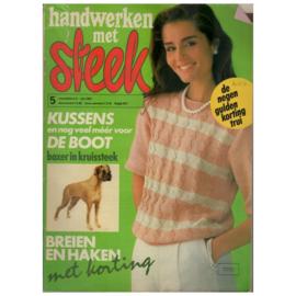 Handwerken met Steek - 1983 nr. 05