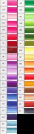 DMC Schaduweffect - Kleurenkaart