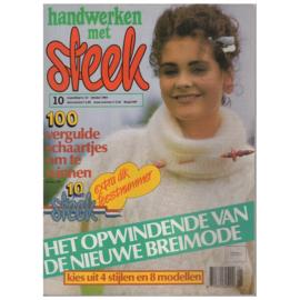 Handwerken met Steek - 1984 nr. 10