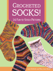 Crocheted Socks! (book)