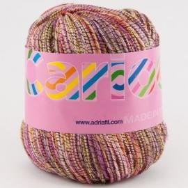 Adriafil - Carioca - kleur 043 GEEL ROZE - Savannah