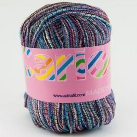 Adriafil - Carioca - kleur 044 BLAUW PAARS - Abyss