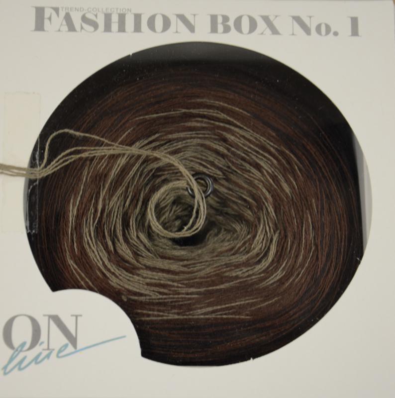 On-Line Fashion Box kleur 2  bruin/beige