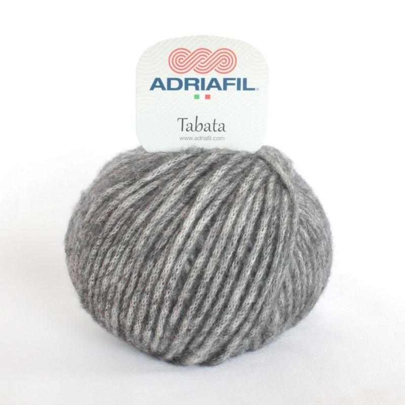 Adriafil - Tabata - kleur 18 - DONKER GRIJS