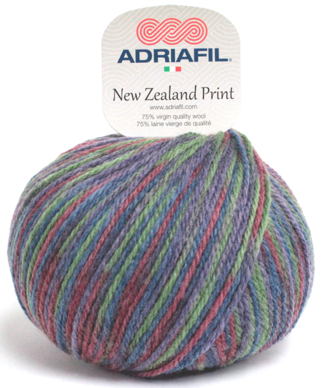 Adriafil - New Zealand Print - Kleur 048 - Verfbad 003