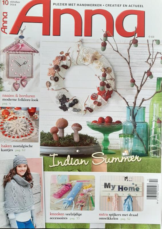 ANNA - 2014 oktober nr. 10 Indian Summer