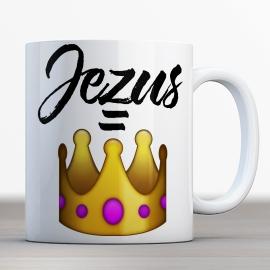 Emoji Bijbelmok 'Jezus is Koning'