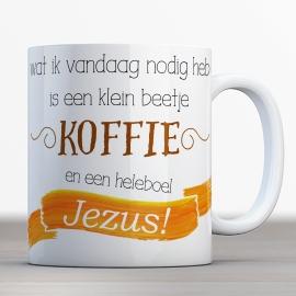 Quotes en Uitspraken bijbelmok beetje koffie heleboel  Jezus