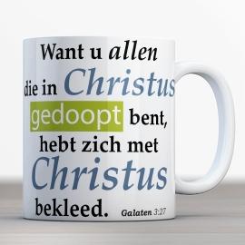 Vers Bijbelmok Galaten 3:27 HSV