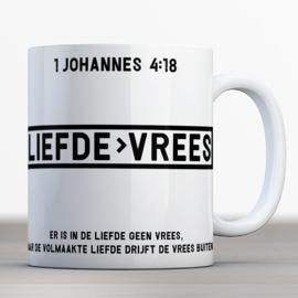 Vers Bijbelmok 1 Johannes 4:18