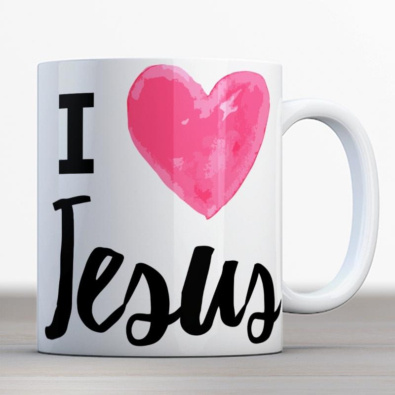 Quotes en Uitspraken bijbelmok I love Jesus